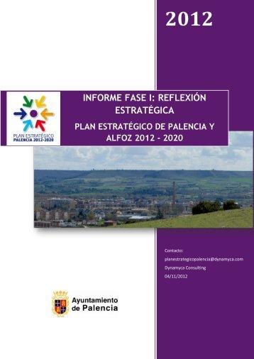 PLAN ESTRATÉGICO DE PALENCIA 2012 – 2020 MESA GENERAL