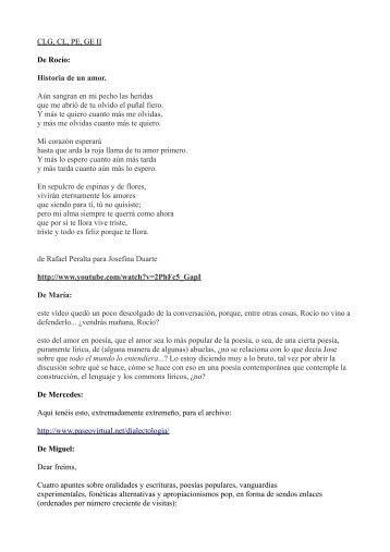 Relatoría del 21 al 28 de novimebre de 2012 - EURACA