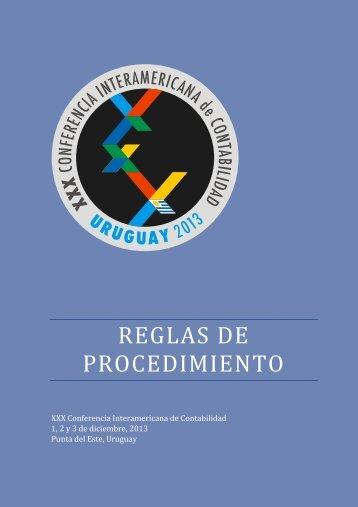 para acceder a las reglas de Procedimiento de la XXX CIC