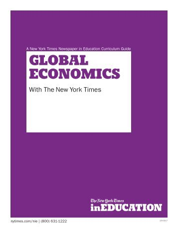 GLOBAL ECONOMICS - The New York Times