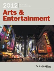 Arts & Entertainment - New York Times – inEducation – Subscriptions