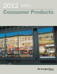 Consumer Products - New York Times – inEducation – Subscriptions