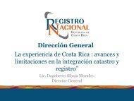 avances y limitaciones en la integración catastro y registro ...