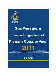 Guía Metodológica del POA 2011 - Trámites y servicios - Gobierno ...