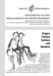 Heft 2 - Volksmusikarchiv des Bezirks Oberbayern