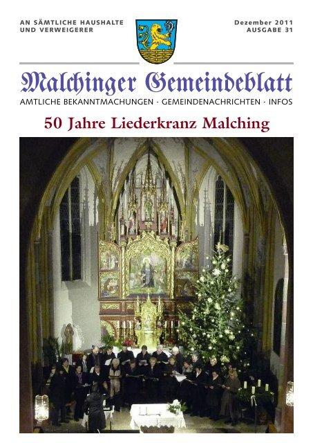 Gem Blatt Juni09 Gemeinde Malching