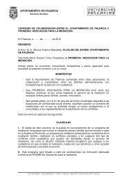 ASOCIACION PARA LA MEDIACION. En - Ayuntamiento de Palencia