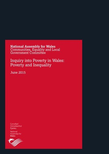 Report on Poverty in Wales Poverty and Inequality, June 2015