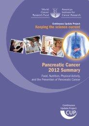 Pancreatic Cancer 2012 Summary - New Zealand Doctor