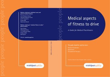 Medical Aspects of Fitness to Drive - New Zealand Doctor