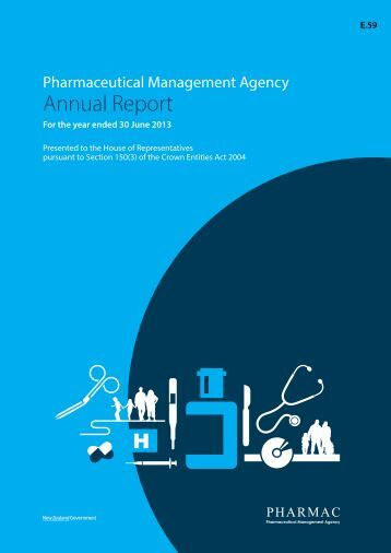 Annual Report 20012/2013 (PDF, 57 pages, 1.3 MB) - Pharmac