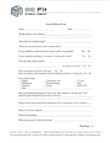 2011 physical fitness medical history form q ai poway pop