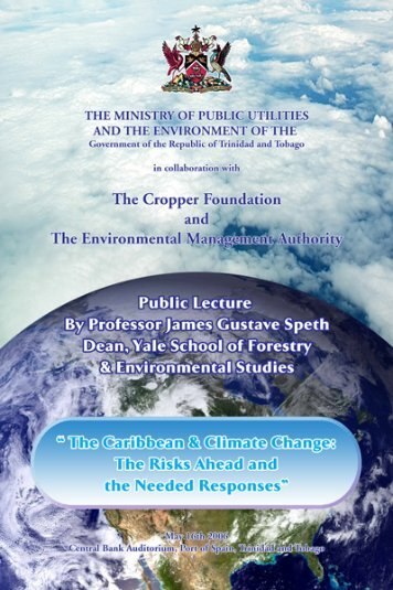 public lecture series 2006 - The Cropper Foundation