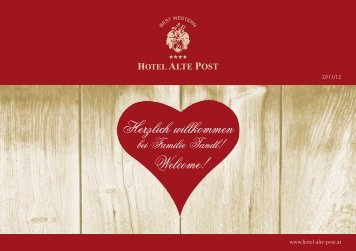 www.hotel-alte-post.at 2011/12