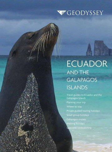 Ecuador and the Galapagos Islands - Geodyssey