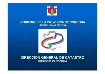 Fundamento jurídico por la Provincia de Córdoba