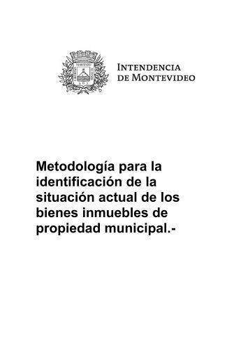 Metodología para identificación de bienes inmuebles de propiedad ...