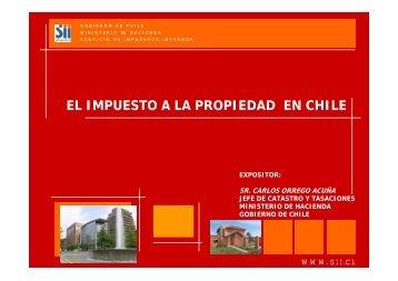 EL IMPUESTO A LA PROPIEDAD EN CHILE