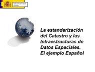 Estándares de Datos y Servicios Catastrales