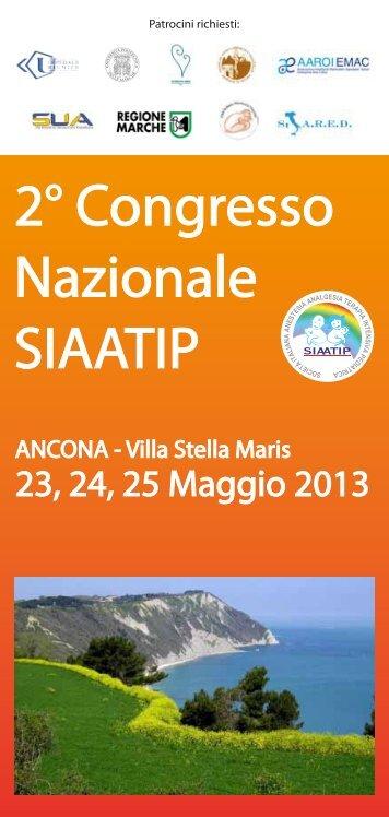 2° Congresso Nazionale SIAATIP - Anestesia Pediatrica e Neonatale