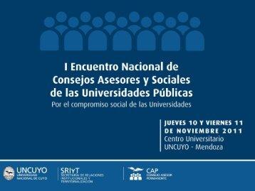 UNCuyo - Universidad Nacional de Cuyo