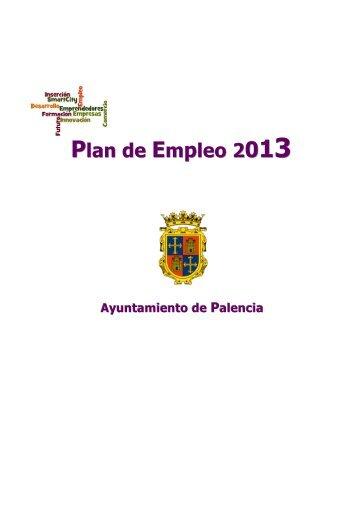 Plan de Empleo 2 - Ayuntamiento de Palencia