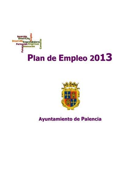 Plan De Empleo 2 Ayuntamiento De Palencia