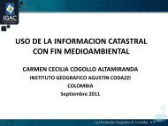 Uso de la Información Catastral con fin Medioambiental - CPCI