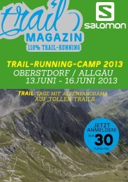 TRAIL-RUNNING-CAMP 2013 - Trail Magazin