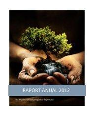 RAPORT ANUAL 2012 - Agentia de Dezvoltare Comunitara Impreuna