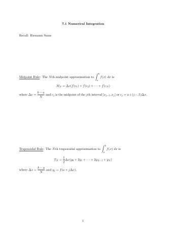 product to sum formula integral pdf