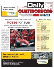 Rosse for ever - Editoriale Domus