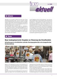 Neue landesplanerische Vorgaben zur Steuerung des ... - I-s-u.de