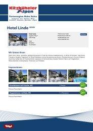 Hotel Linde *** - Hohe Salve
