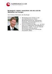 Andreas Mittrowann - Strategisch, digital, menschlich - die ekz und ...