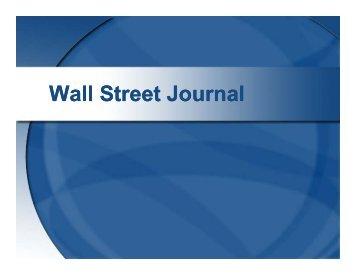 Wall Street Journal Database