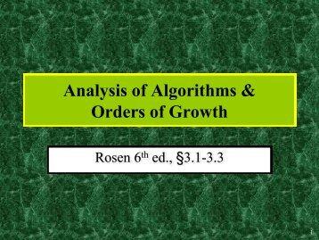 Slides for Rosen, 5th edition - Index of
