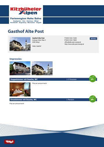 Hotel Adler Alte Post
