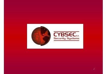 El estado del arte de la Seguridad Informática Desde 1998 ... - Cybsec
