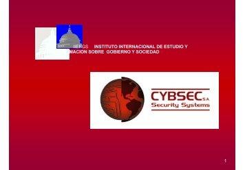 Seguridad en el e-government - Cybsec