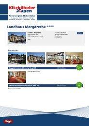 Landhaus Margarethe **** - Hohe Salve