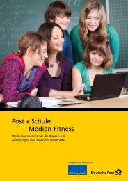Post + Schule Klick dich fit! Post + Schule Medien ... - Deutsche Post
