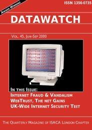Vol 45 Jun - Sep 2000 - internetworking4u.co.uk