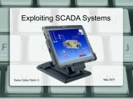 Exploiting SCADA Systems - Hacking-Lab