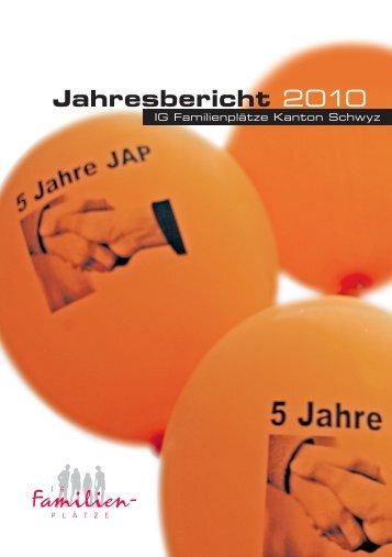 Jahresbericht 2010 -  IG-Familienplätze
