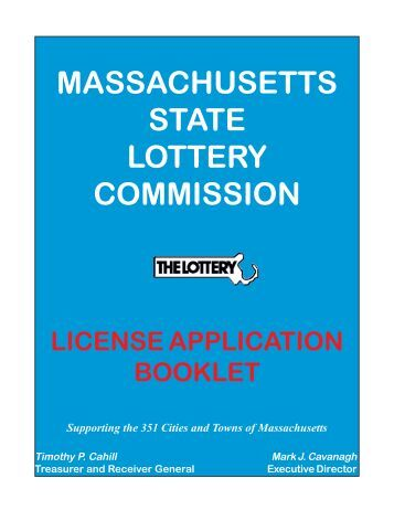 MASSACHUSETTS STATE LOTTERY COMMISSION