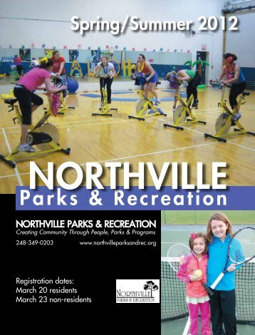 Activities Brochure - Northville Parks and Recreation