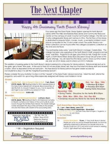 Newsletter - Elyria Public Library