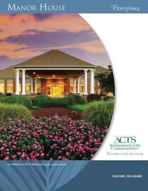 manor house - ACTS Retirement