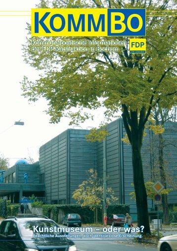 Kunstmuseum - Die FDP-Fraktion im Rat